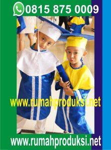 Konveksi Jual Produksi Pakaian Seragam Baju Toga Wisuda TK ...